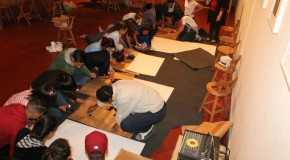 Workshop: African Art Education for Brazilian school children